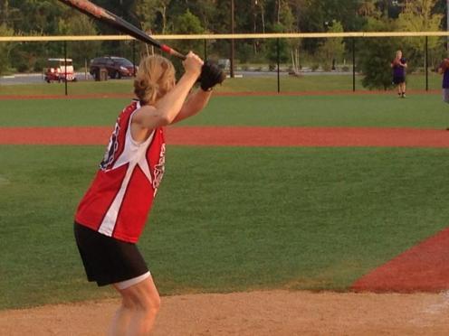 SF me batting